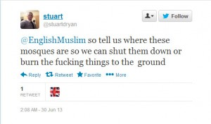 So EDL Sympathisers Espouse Non-Violence? Pigs Might Just Fly!