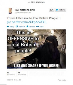 On-line Law Breaking, the Targeting of Mosques & Promoting a Sense of the 'Other'