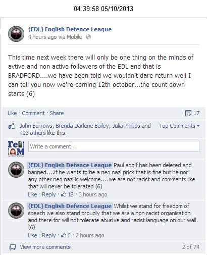 The Reality of the English Defence League – Shameful!