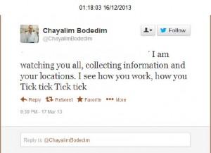 @Chayalimbodedim & the 'Necklacing' of Diane Abbott MP