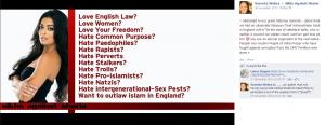 Graphic against Islam - Sareeta Webra