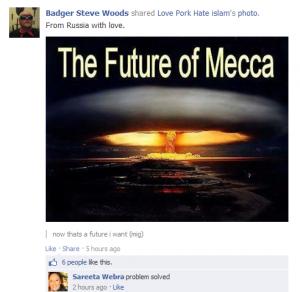 Nuking of Mecca - Sareeta Webra