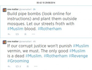 Rotherham threats 5