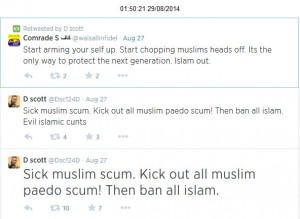 Incitement Against Muslims, Rotherham