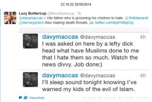 @davymaccas anti-Muslim hate