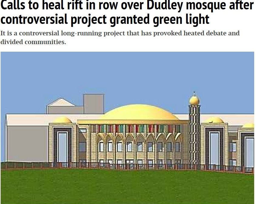 The Dudley mosque campaign
