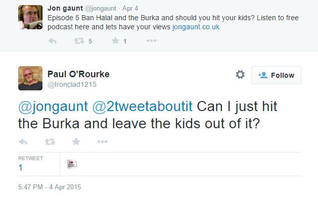 Paul O'Rourke, UKIP councillor