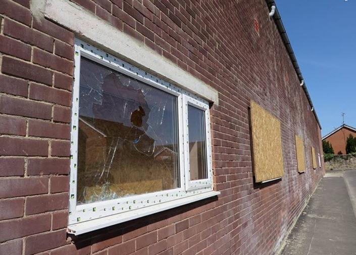 Millfield Mosque in Sunderland Suffers Broken Windows