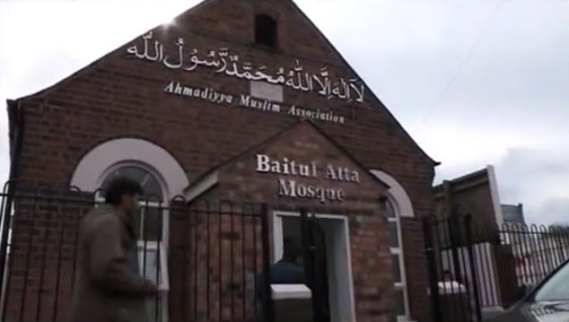 Ahmaddiya Mosque Attacked in Wolverhampton