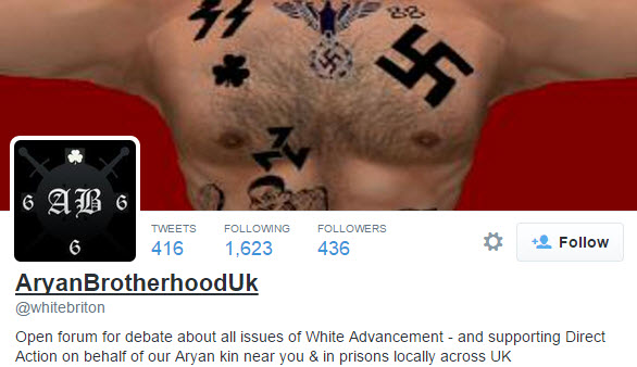 Aryan Brotherhood Social Media Site Proposing Action Against Prisons