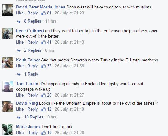 Turkey anti-Muslim hate