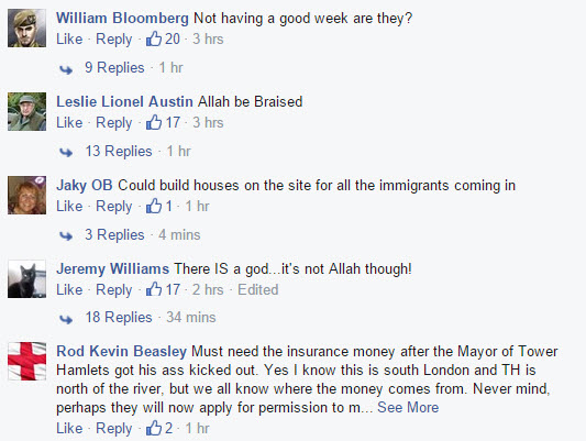 Anti-Muslim Comments 2