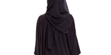 Hijabi Full Abaya Shortened