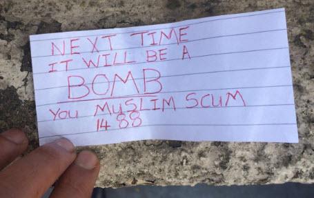 Rotherham Mosque Receives Neo-Nazi Bomb Threat