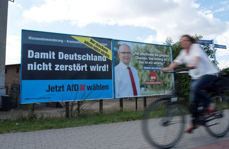 Anti-immigrant party poised for huge win in German state election