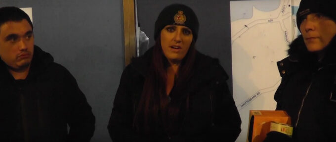 How the latest Britain First propaganda targets the 'local English homeless'