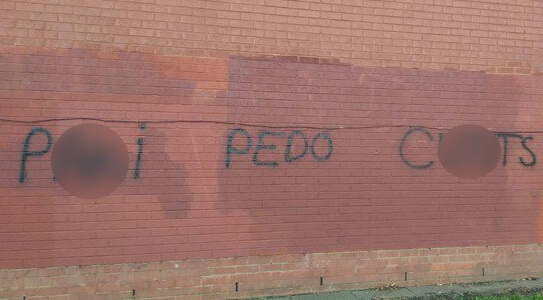 Locals condemn racist, anti-Muslim graffiti in Birmingham
