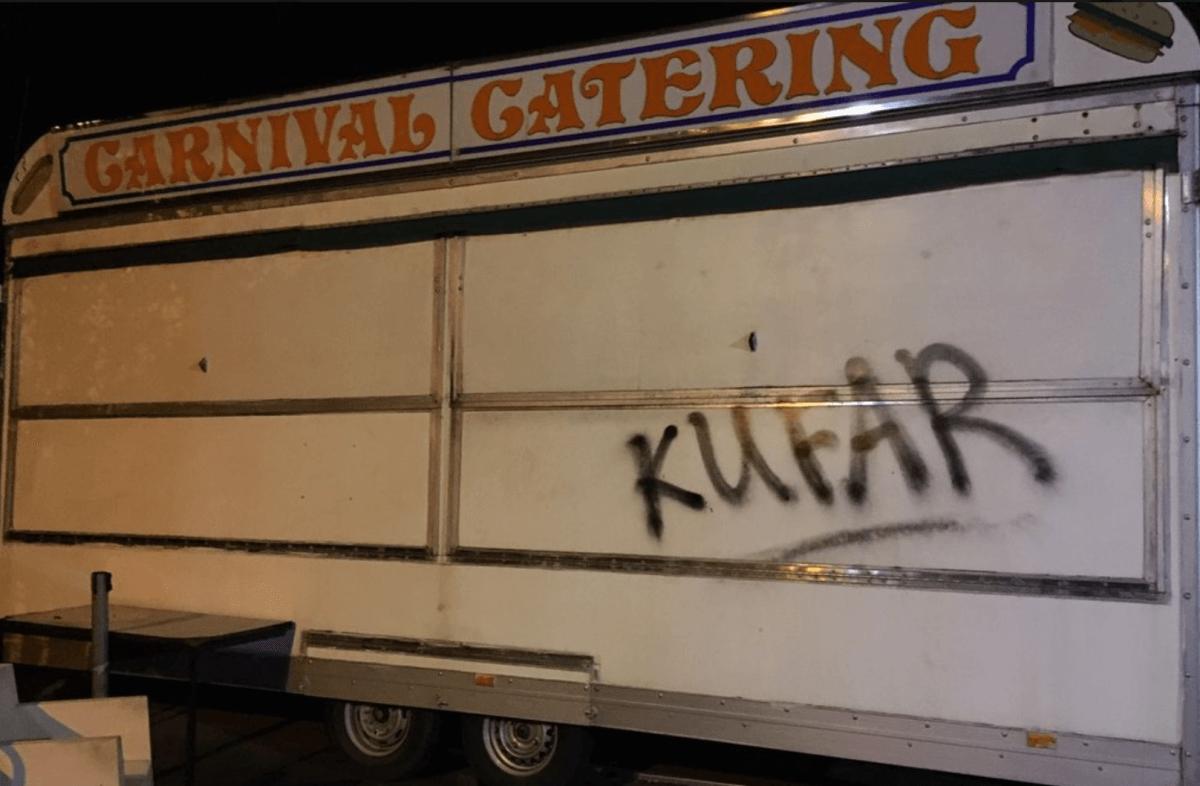 Sectarian Anti-Shia Rhetoric Placed On Van Outside the KSIMC Mosque in Birmingham