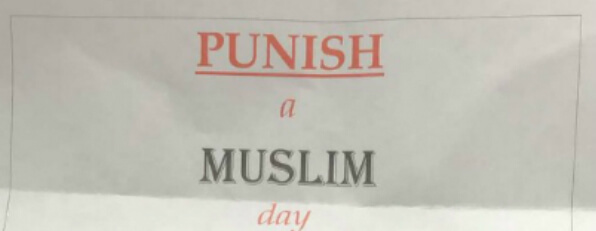 Government condemns 'Punish a Muslim Day' as counter-terror police continue their investigation