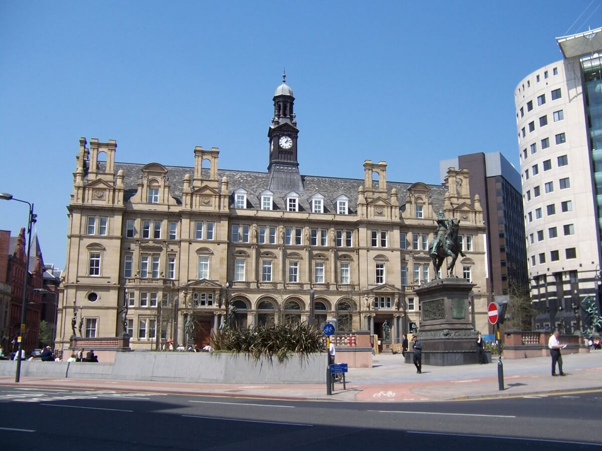 """Racist coughed on Muslim family and told them """"there you go"""" in Leeds"""