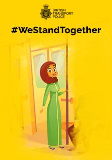 #WeStandTogether – Tackling hate crime on the transport network