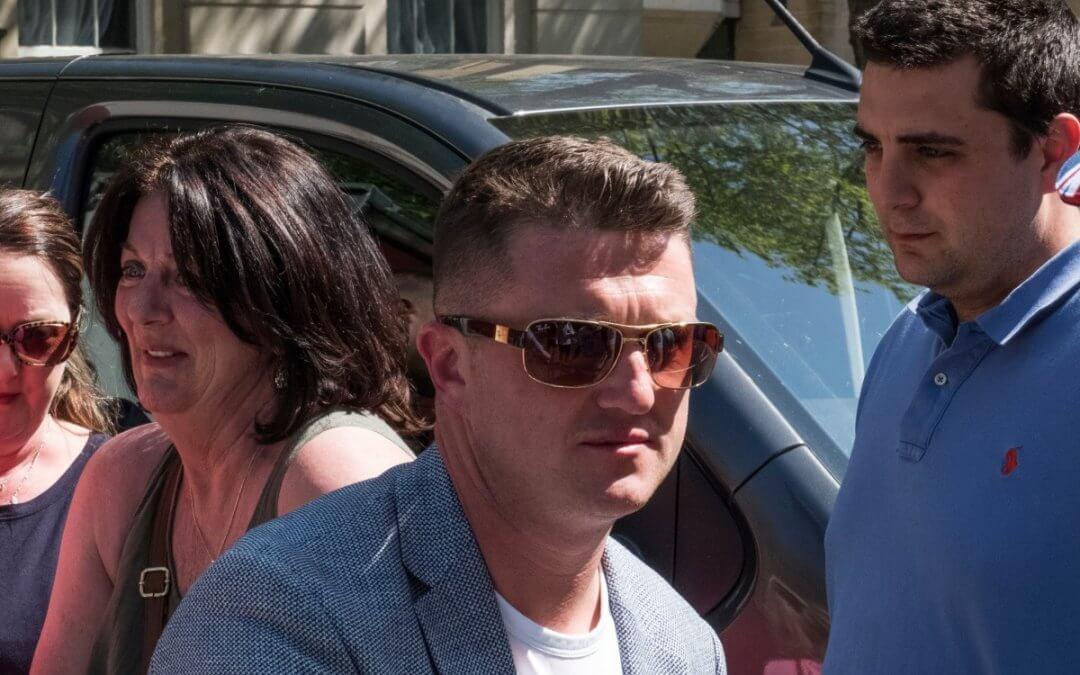 'I am not a racist', Tommy Robinson tells libel trial