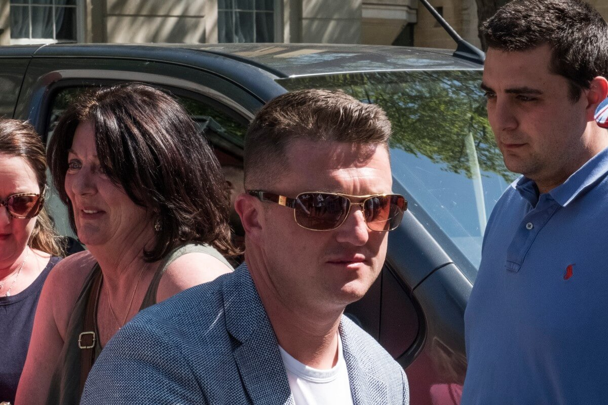 'I am not a racist', Tommy Robinson tells libel trial